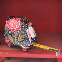 wayfield reds floral tape measure by Celia Birtwell - $9.99 : ShopRuche.com, Vintage Inspired Clothing, Affordable Clothes, Eco friendly Fashion