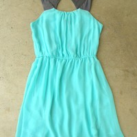 Portofino Mint Party Dress [2577] - $36.00 : Vintage Inspired Clothing & Affordable Summer Frocks, deloom | Modern. Vintage. Crafted.