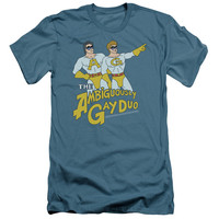 SNL/AMBIGUOUSLY GAY DUO - S/S ADULT 30/1 - SLATE -