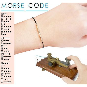 Morse Code Secret Message Bracelets