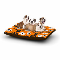 "KESS Original ""Spooktacular"" Halloween Pattern Dog Bed"