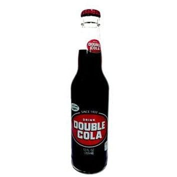 Double Cola Glass Bottle