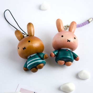 [Lovely Miffy-2] - Cell Phone Charm Strap / Camera Charm Strap / Handbags Charms