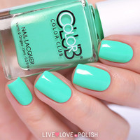 Color Club Age Of Aquarius Nail Polish (Poptastic Collection)