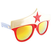 Sun Staches Wonder Woman Small