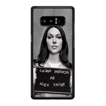 Orange Is The New Black Alex Vause 1 Samsung Galaxy Note 8 Case