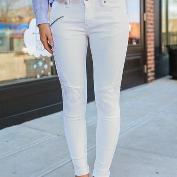 ALMOST FAMOUS MOTO JEGGINGS