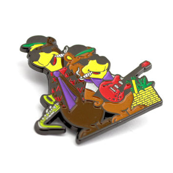 The Grizzy Bear Picnic Pin