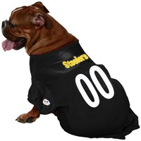 Pittsburgh Steelers #00 Black Dog Jersey