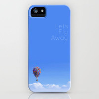 Let's Fly Away- Disney Pixar's Up House iPhone Case by Disney Designs | Society6