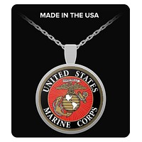 US MARINE CORPS NECKLACE