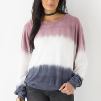 Pullover Dip Dye Sweater