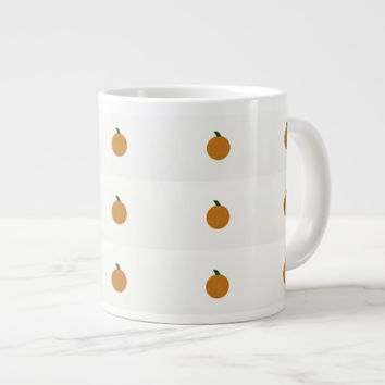 Fall Pumpkin Large Coffee Mug