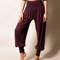 Bamboo Taj Pants - Fig