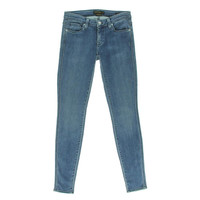 Genetic Denim Womens The Shya Mid-Rise Stretch Cigarette Jeans