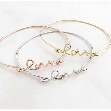 Love Bracelet - (MORE COLORS)