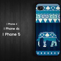 Case iPhone 4 Case iPhone 4s Case iPhone 5 Case sea idea case abstract elephant animal case
