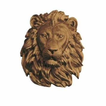 The Saharan Large Lion Head Faux Taxidermy Single Color
