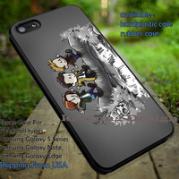 Supernatural Calvin and Hobbes Style Art iPhone 6s 6 6s+ 5c 5s Cases Samsung Galaxy s5 s6 Edge+ NOTE 5 4 3 #movie #supernatural #superwholock #sherlock #doctorWho #CalvinAndHobbes dt
