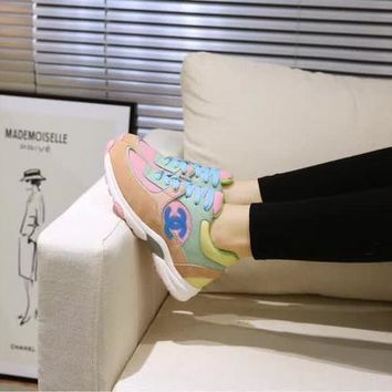 New Fashion Double C Low Top Sneaker Reference #1237 - Beauty Ticks