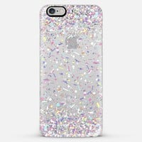 Pastel Candy Confetti Burst iPhone 6 case by Organic Saturation | Casetify