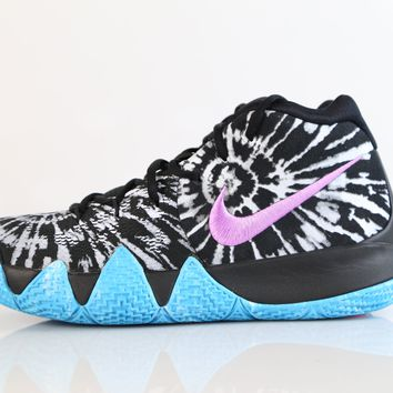 BC SPBEST Nike Kyrie 4 AS All-Star Black White AQ8623-001 (NO Codes)