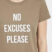 No Excuses Graphic Tee | Forever 21 - 2000168003