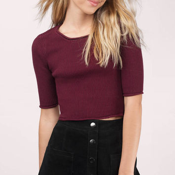 Aundrea Cropped Sweater