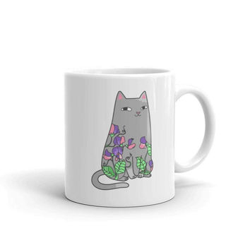 Spike & Sweet Peas Coffee Mug