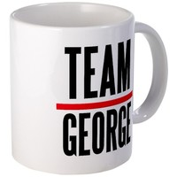 Team George Grey's Anatomy Mug on CafePress.com