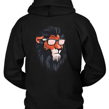 The Lion King Cool Summerish Scar Hoodie Two Sided
