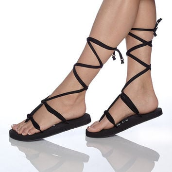 Gladiator handmade  sandals or flip flops with interchangeable ribbons , interchangeable sandal