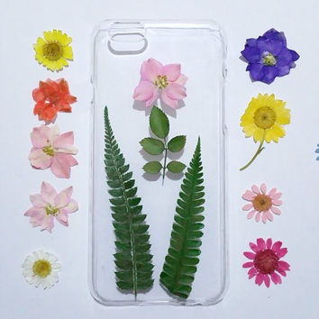 Galaxy note 5 Case, Galaxy S6 Edge case Pressed Flower, Clear  S6 Cases, Galaxy S5 Case Clear, pressed flower samsung galaxy case