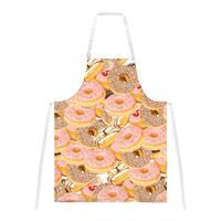 Donuts All Over Apron