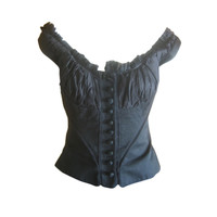 Alexander McQueen Pirate collection chiffon Corset Spring '03