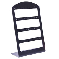 New Fashion 48 Holes Earrings Ear Studs Jewelry Show Plastic Display Rack Stand Organizer Holder Christmas