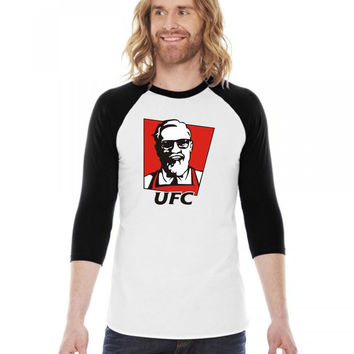 the notorious conor mcgregor t shirt funny ufc kfc 3/4 Sleeve Shirt