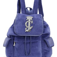 La Glamour Velour Backpack by Juicy Couture, O/S