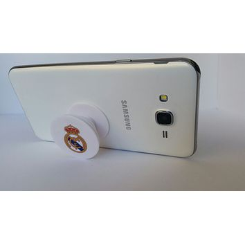 Pop Out Phone Grip and Stand, Mobile Holder for your Phone & Tablet  (Real Madrid)