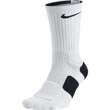 CUPUPSN Nike Men`s Dri-FIT Elite Basketball Crew Socks