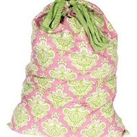 Istanbul Pink/Lime - College Laundry Bag