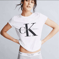 Summer Women's Fashion Hot Sale Alphabet Print Short Sleeve Casual Sports T-shirts [7587937991]