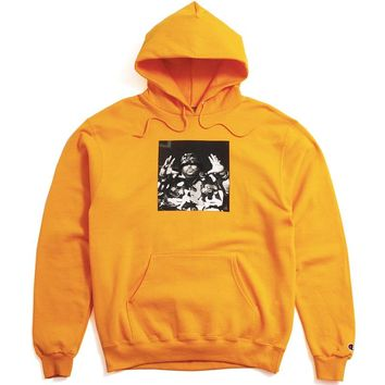 PLEASURES x Big Pun - Christopher Hoodie Yellow