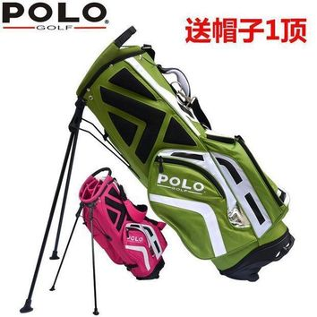Brand Polo Golf Rack Tripod Bag Backpack Bag 11 Piece Clubs Container  Anti Friction Golf Cart Bag Staff Golf Bag