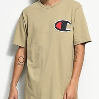 Champion Heritage Big C Khaki T-Shirt