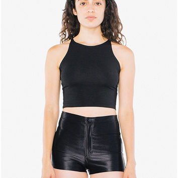 Cotton Spandex Sleeveless Crop Top | American Apparel