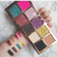 Beauty Make-up Professional Stylish 10-color Eye Shadow Make-up Palette [11043707020]