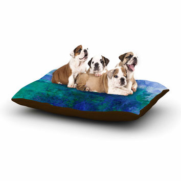 "Ebi Emporium ""Epoch 2"" Blue Teal Dog Bed"