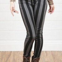 CC8590GBC04RSW Striped Skinny Jeans and Shop Apparel at MakeMeChic.com