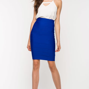 The Banded Bodycon Skirt